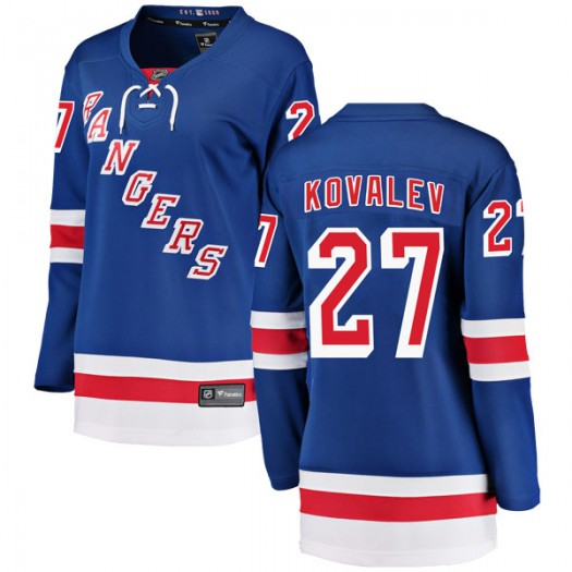 Alex Kovalev New York Rangers Women's Fanatics Branded Blue Breakaway Home Jersey