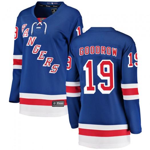 Barclay Goodrow New York Rangers Women's Fanatics Branded Blue Breakaway Home Jersey