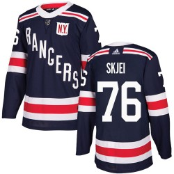 Brady Skjei New York Rangers Men's Adidas Authentic Navy Blue 2018 Winter Classic Jersey
