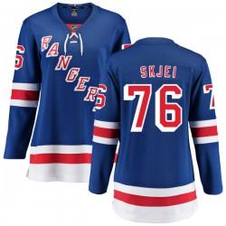 Brady Skjei New York Rangers Women's Fanatics Branded Blue Home Breakaway Jersey