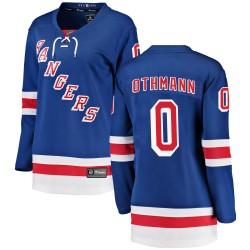 Brennan Othmann New York Rangers Women's Fanatics Branded Blue Breakaway Home Jersey