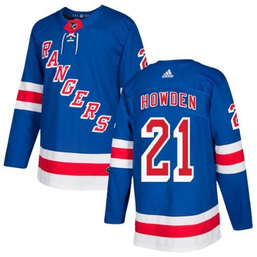 Brett Howden New York Rangers Men's Adidas Authentic Royal Blue Home Jersey