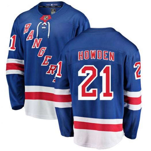 Brett Howden New York Rangers Men's Fanatics Branded Blue Breakaway Home Jersey