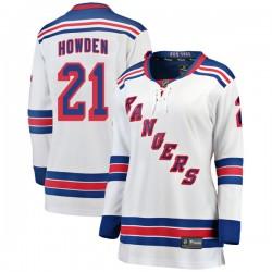 Brett Howden New York Rangers Women's Fanatics Branded White Breakaway Away Jersey