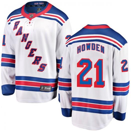 Brett Howden New York Rangers Youth Fanatics Branded White Breakaway Away Jersey