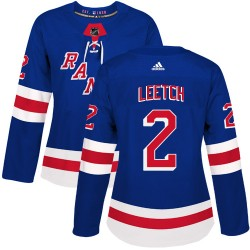 Brian Leetch New York Rangers Women's Adidas Authentic Royal Blue Home Jersey