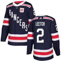 Brian Leetch New York Rangers Youth Adidas Authentic Navy Blue 2018 Winter Classic Jersey