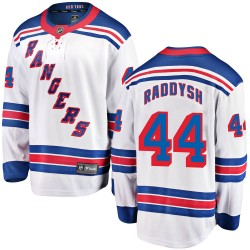 Darren Raddysh New York Rangers Youth Fanatics Branded White ized Breakaway Away Jersey