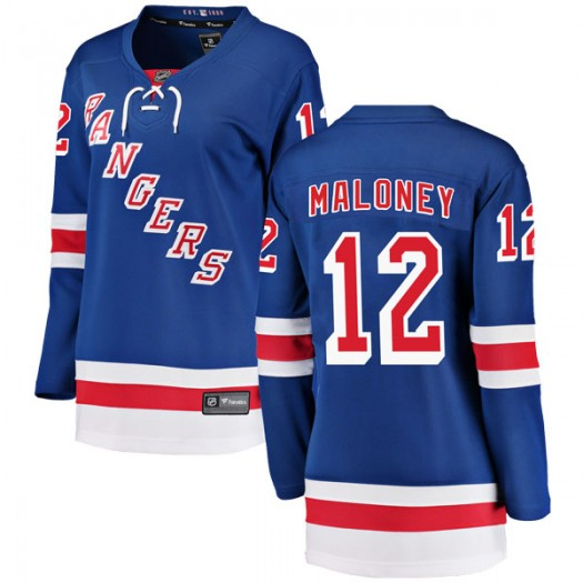 Don Maloney New York Rangers Women's Fanatics Branded Blue Breakaway Home Jersey