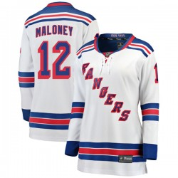 Don Maloney New York Rangers Women's Fanatics Branded White Breakaway Away Jersey
