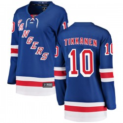 Esa Tikkanen New York Rangers Women's Fanatics Branded Blue Breakaway Home Jersey