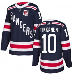 Esa Tikkanen New York Rangers Youth Adidas Authentic Navy Blue 2018 Winter Classic Home Jersey