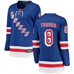 Jacob Trouba New York Rangers Women's Fanatics Branded Blue Breakaway Home Jersey