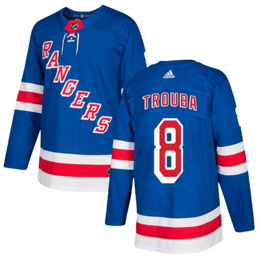 Jacob Trouba New York Rangers Youth Adidas Authentic Royal Blue Home Jersey