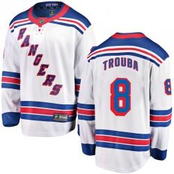 Jacob Trouba New York Rangers Youth Fanatics Branded White Breakaway Away Jersey