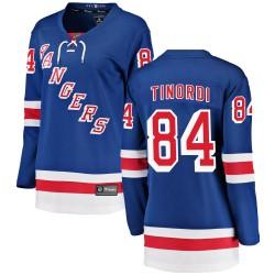 Jarred Tinordi New York Rangers Women's Fanatics Branded Blue Breakaway Home Jersey