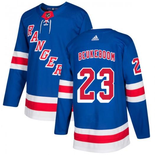 Jeff Beukeboom New York Rangers Men's Adidas Authentic Royal Jersey