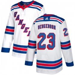Jeff Beukeboom New York Rangers Men's Adidas Authentic White Jersey
