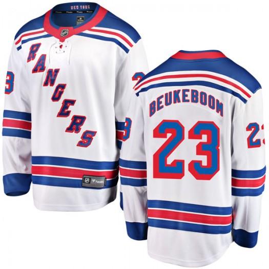 Jeff Beukeboom New York Rangers Men's Fanatics Branded White Breakaway Away Jersey