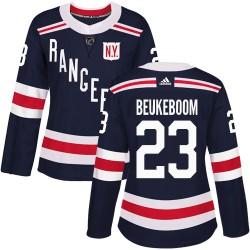 Jeff Beukeboom New York Rangers Women's Adidas Authentic Navy Blue 2018 Winter Classic Jersey