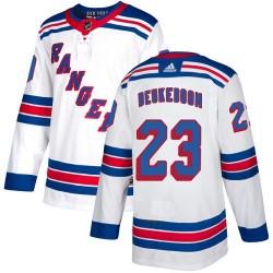 Jeff Beukeboom New York Rangers Youth Adidas Authentic White Away Jersey
