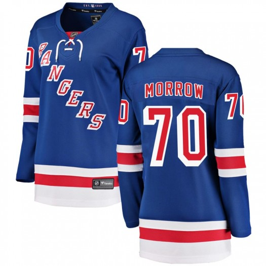 Joe Morrow New York Rangers Women's Fanatics Branded Blue Breakaway Home Jersey