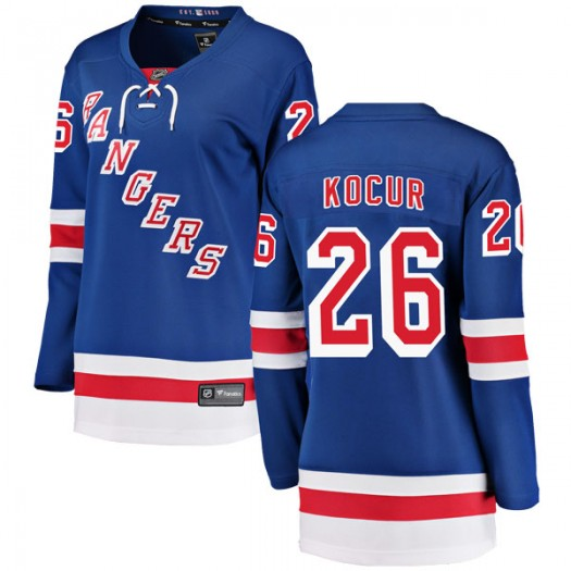 Joey Kocur New York Rangers Women's Fanatics Branded Blue Breakaway Home Jersey