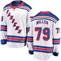 KAndre Miller New York Rangers Men's Fanatics Branded White Breakaway Away Jersey