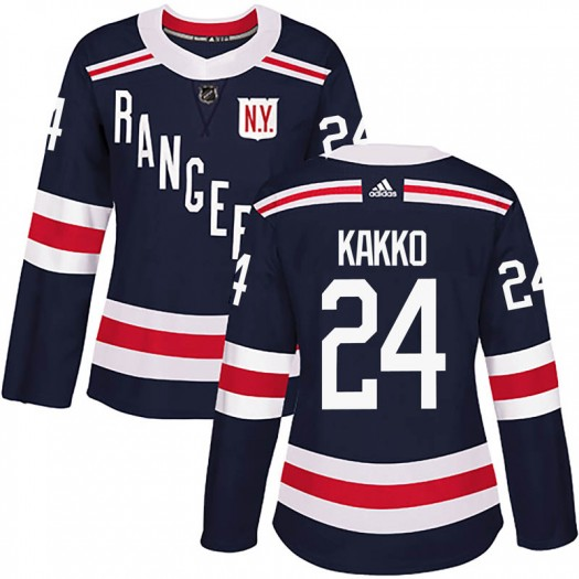 Kaapo Kakko New York Rangers Women's Adidas Authentic Navy Blue 2018 Winter Classic Home Jersey