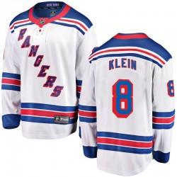 Kevin Klein New York Rangers Men's Fanatics Branded White Breakaway Away Jersey