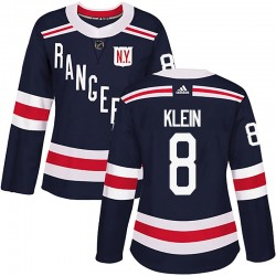 Kevin Klein New York Rangers Women's Adidas Authentic Navy Blue 2018 Winter Classic Home Jersey