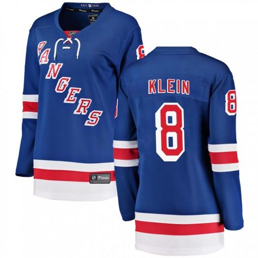 Kevin Klein New York Rangers Women's Fanatics Branded Blue Breakaway Home Jersey