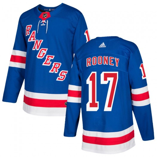 Kevin Rooney New York Rangers Men's Adidas Authentic Royal Blue Home Jersey