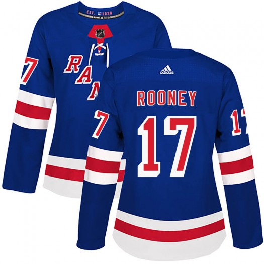 Kevin Rooney New York Rangers Women's Adidas Authentic Royal Blue Home Jersey