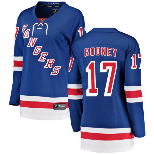 Kevin Rooney New York Rangers Women's Fanatics Branded Blue Breakaway Home Jersey