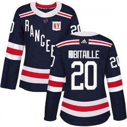 Luc Robitaille New York Rangers Women's Adidas Authentic Navy Blue 2018 Winter Classic Home Jersey