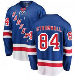 Malte Stromwall New York Rangers Men's Fanatics Branded Blue Breakaway Home Jersey