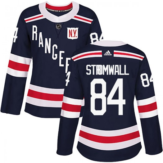 Malte Stromwall New York Rangers Women's Adidas Authentic Navy Blue 2018 Winter Classic Home Jersey