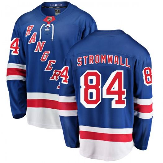 Malte Stromwall New York Rangers Youth Fanatics Branded Blue Breakaway Home Jersey