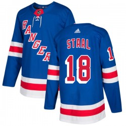 Marc Staal New York Rangers Men's Adidas Authentic Royal Jersey