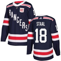 Marc Staal New York Rangers Youth Adidas Authentic Navy Blue 2018 Winter Classic Jersey