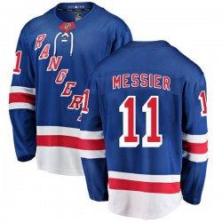 Mark Messier New York Rangers Youth Fanatics Branded Blue Breakaway Home Jersey