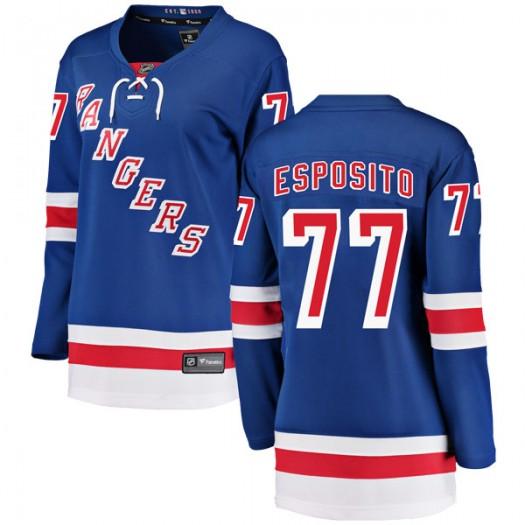 Phil Esposito New York Rangers Women's Fanatics Branded Blue Breakaway Home Jersey