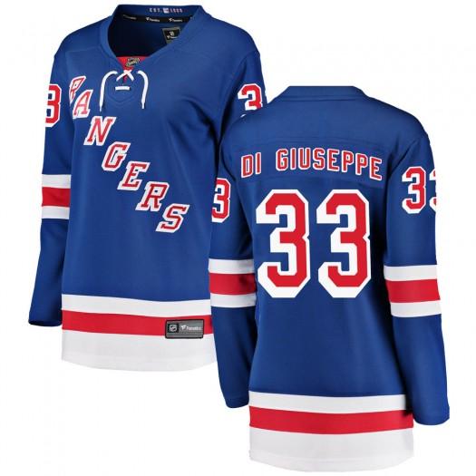 Phillip Di Giuseppe New York Rangers Women's Fanatics Branded Blue Breakaway Home Jersey