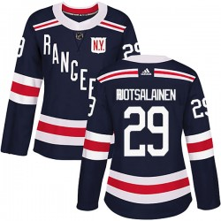 Reijo Ruotsalainen New York Rangers Women's Adidas Authentic Navy Blue 2018 Winter Classic Home Jersey