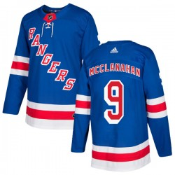 Rob Mcclanahan New York Rangers Men's Adidas Authentic Royal Blue Home Jersey
