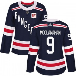 Rob Mcclanahan New York Rangers Women's Adidas Authentic Navy Blue 2018 Winter Classic Home Jersey