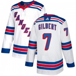 Rod Gilbert New York Rangers Men's Adidas Authentic White Jersey