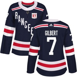 Rod Gilbert New York Rangers Women's Adidas Authentic Navy Blue 2018 Winter Classic Jersey