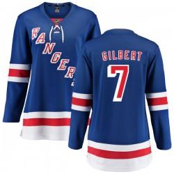 Rod Gilbert New York Rangers Women's Fanatics Branded Blue Home Breakaway Jersey
